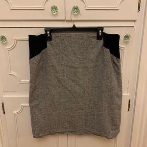 Calvin Klein Houndstooth Skirt
